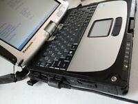 """Panasonic ToughBook CF-19 mk8 10"""" Core i5 Touchscreen CF19 Windows 10 - CHOOSE!!"""
