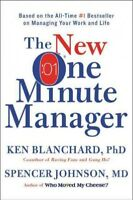 New One Minute Manager, Hardcover by Blanchard, Ken, Ph.D.; Johnson, Spencer,...