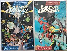 DC Comics COSMIC ODYSSEY Books One + Two NM 1988 Batman Superman JLA Darkseid