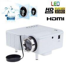 Mini Portable LCD LED Proyector Projector PC Laptop VGA/USB HD 1080P USB HDMI AL