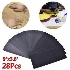 Tools Wood Metal  Sandpaper Assorted Paper Water Abrasive 120-3000 Grit