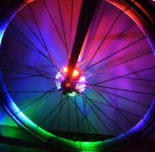 Set of 2 Hub Light Bike Wheel Light MTB LED Spoke Light 3xLR44 Battery IP55