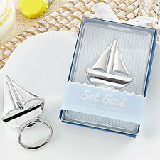 Popular Beach Theme Sailboat Bottle Opener Wedding Favor Bridal Shower Favor Hot