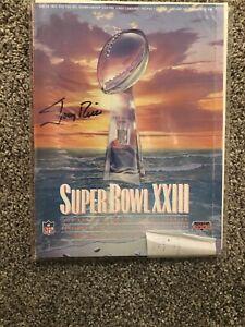 Jerry Rice Super Bowl XXIII Autographed Program