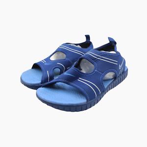 Nike NikePLAY Aqua Summer Lightweight Water Sandals Youths Kids UK 4.5 Blue