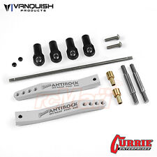 Vanquish Aluminum Currie Antirock Sway Bar V2 For Axial Yeti Clear Car #VPS08301