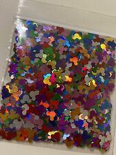 Holo Mouse Ears Rainbow Multi Color Glitter Holographic Mickey Ear Diy Nails Art