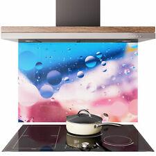 Glass Splashback Kitchen Tile Cooker Panel ANY SIZE Shagreen Bubble Liquid 0806