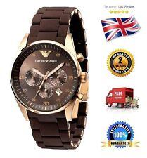 ARMANI Sport Chronograph Brown Dial Men's Watch AR5890