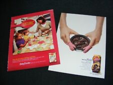 BETTY CROCKER magazine clippings from 2003 & 2007 print ads