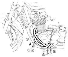 Suzuki GSX 1400 Engine Protection Bar - Chrome BY HEPCO AND BECKER