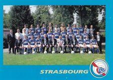 n°20 VIGNETTE PANINI CHAMPIONNAT DE FRANCE 1996 EQUIPE STRASBOURG