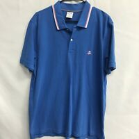 🌴BROOKS BROTHERS 1818 Men's SS Cotton Polo Shirt XL Blue🌴Free Ship