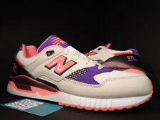 NEW BALANCE M530WST M530 530 WEST NYC PROJECT CREAM WHITE PURPLE INFRARED NEW 9