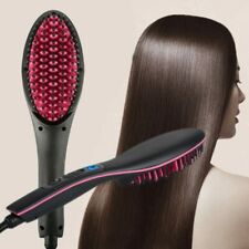 Electric Hair Straightener Ceramic Hot Combs Straightener Heating Combs