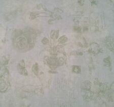 Legacy Art Studio Flavia for VIP Cranston BTY Soft Tonal Green Butterfly Floral