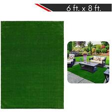 6 ft. x 8 ft. Artificial Grass Rug Turf Outdoor Indoor Patio Mat Carpet Roll