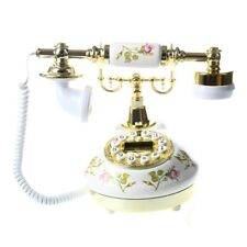 Telefono Fijo Antiguo Vintage Retro MS-9100 Casa Mesa Oficina Y6J8