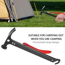 Lightweight Camping Tent Aluminum Alloy+Carbon Steel Hammer Mallet Peg Remover S