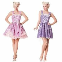 PINK WHITE CHECK RIBBON GINGHAM DRESS S L 10 14 ROCKABILLY DOROTHY LOLITA RETRO