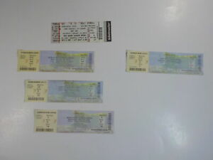 5 UFC Full Tickets 2014-15 MMA MGM Grand Garden Arena Lot Mixed Martial Arts VTG