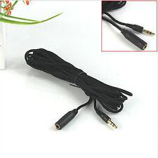 3 M Cable Alargador audio estéreo extensión Jack 3,5 mm Macho a Hembra