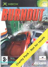 Burnout Microsoft Xbox 3+ Racing Game