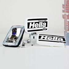 2x Hella Comet 550 12V 55W H3 Fernscheinwerfer Scheinwerfer 195x96mm + Kappe
