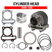 Motorcycle New Cylinder Kit Piston Gasket Set For GY6 125CC engines