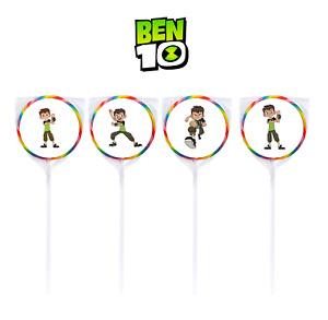 "24 Ben 10 1.67"" Sticker Labels for Bag Lollipop Birthday Party Favor"