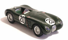 JAGUAR XK 120 C  1:43 - N° 20 WINNER 24hr LE MANS 1951 - DIE CAST MODEL