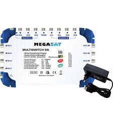 Megasat DiSEqC Multischalter 9/8 Sat Multiswitch