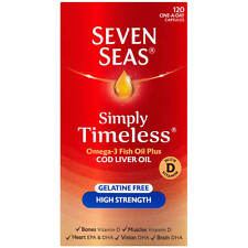 SEVEN SEAS COD LIVER OIL HIGH STRENGTH - 120 CAPSULES