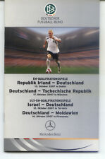 2007 Ireland - Germany + Czech Republic / Israel / Moldova - VIP-Edition