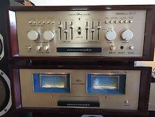 Marantz SM-9 Esotec power amp and Marantz SC-9 Esotec preamplifier,rare matching