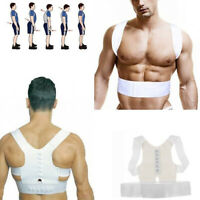 Humpback Posture Corrector Support Back Shoulder Brace Belt Strap Charm
