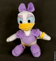 """Just Play Disney 8"""" DAISY DUCK in Purple Outfit Plush Stuffed Animal Toy"""