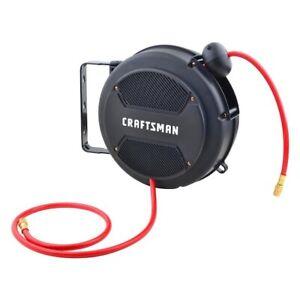 NEW Craftsman Mini Retractable Air Compressor Hose Reel