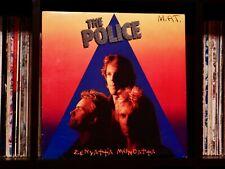 Police ♫ Zenyattà Mondatta ♫ 1980 A&M Records Original Press Vinyl LP w/Insert