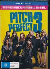 Pitch Perfect 3 Three DVD NEW Region 4 Rebel Wilson Anna Kendrick