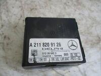Control Unit Abbschleppschutz Mercedes-Benz CLK (C209) 240 A2118209126