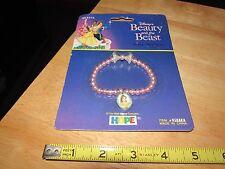 1992 Pearl Bracelet Beauty the Beast mint on card
