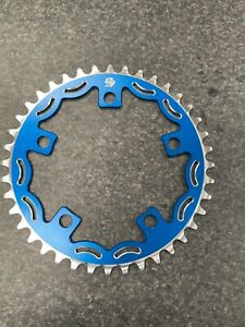 Snap BMX Products Series II 110mm 5 bolt Chainring - 40t Blue