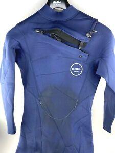 XCEL Competition Wet Suit Mens Medium Blue Surf Neoprene 2.0 mm Bodysuit SURFING