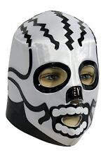 Skull Wrestling Mask Luchador Mexican Fancy Dress Halloween Costume Accessory