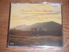 Romantic Piano Quintets - Music by Cramer Dussek Hummel Limmer Ries (4xCD)