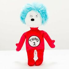 """Universal Studios Thing 2 Plush 12"""" Dr Seuss Cat in the Hat Red Stuffed Animal"""