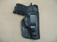 Bersa 383 .380 Iwb Leather In The Waistband Concealed Carry Holster Ccw Black Rh