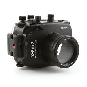40m Waterproof Underwater Diving Housing Case For Fujifilm X-Pro2 16-50mm 35mm