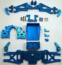 Dhawk Racing Aluminum Conversion Kit Blue For Team Associated RC10 World's Car